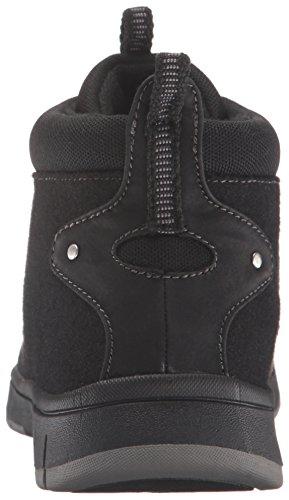 Chaussure Femme Lyla Bootie Noire Facile Flanelle / Noir