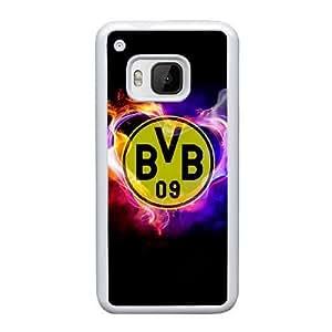 HTC One M9 Cell Phone Case White Borussia Dortmund BVB Bundesliga Football Club BVB Logo QY7037474