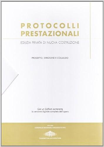 Book Protocolli prestazionali. Con CD-ROM