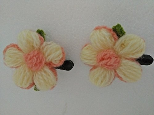 hair-clips-knit-floral-mastic-hnnmade2-pieces-per-pack-1