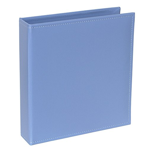 - Project Life Faux Leather Album, 6 by 8-Inch, Blue