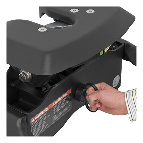 CURT 16043 A16 5th Wheel Hitch with Ram Puck System Legs