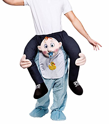 Carry Me Ride on Riding Shoulder Adult Costume Easter Mascot Pants-Baby