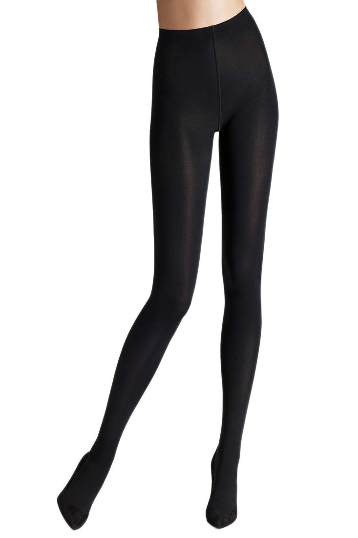 Wolford Matte 80 Denier Opaque Tights, Medium, Black by Wolford