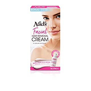 Nad's Facial Hair Removal Cream - Gentle & Soothing Hair Removal For Women - Sensitive Depilatory Cream For Delicate Face Areas, 0.99 Oz (4446)