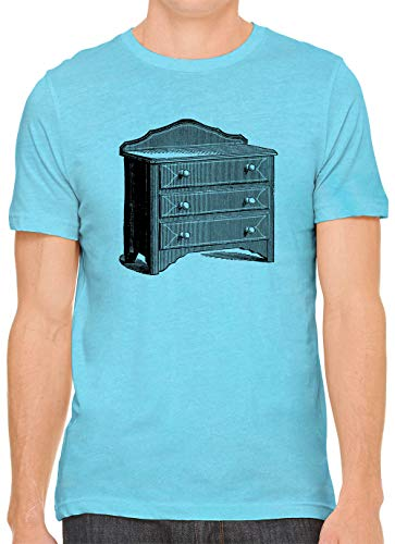 - Grandma Dresser Unisex Premium Crewneck Printed T-Shirt Tee, Aqua S