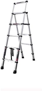 J-Escalera de Tijera Portátil Paso Las escaleras plegables escaleras de mano y colgantes hogar taburete de paso telescópica multifuncional antideslizante hacer la limpieza Algo Escalera Portátil: Amazon.es: Bricolaje y herramientas