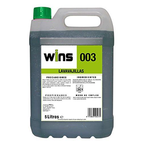 WINS. Lavavajillas Wins 003. Envase 5 Litros. Detergente para el ...