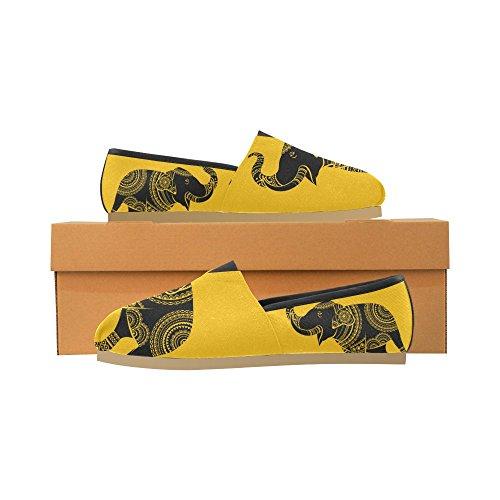 InterestPrint elephant Loafers Casual Shoes for Men Women Elephant 1 J6IMtiwa