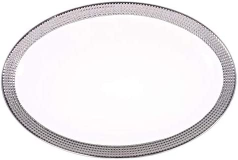 Master Chef Ceramic Dotted Oval Plate 1 Piece Buy Online At