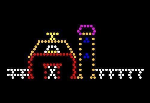 Lite Brite Refill: The Farm (9x12 RECTANGLE) - NOT FOR NEW LITE BRITES - For pre-1990 Lite Brites only