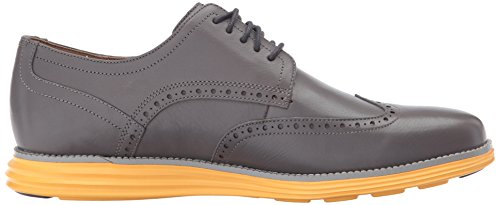 Cole Haan Menns Opprinnelige Grand Shortwing Oxford Magnet / Sludd / Sunglow