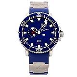 Ulysse Nardin Acqua Perpetual Calendar Mechanical (Automatic) Blue Dial Mens Watch 333-77-7 (Certified Pre-Owned)
