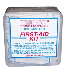 Trident First Aid Snorkeling Swimming Injuries product image