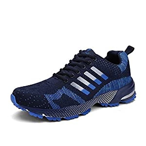 Lukisy Sports Air Cushioning Men's Jogging Walking Riding Sport Running Shoes,Fashion Walking Sneakers