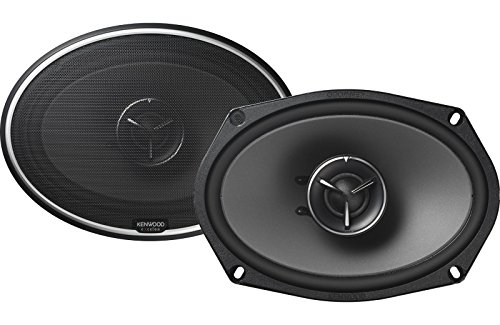 Kenwood Exelon Kfc X694 6X9 2 Way Coaxial Flush Mount Car Speakers