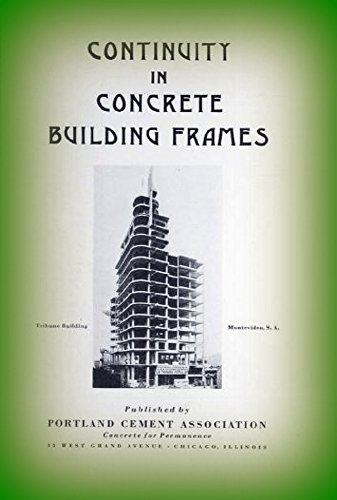 Continuity in Concrete Building - Portland Frames
