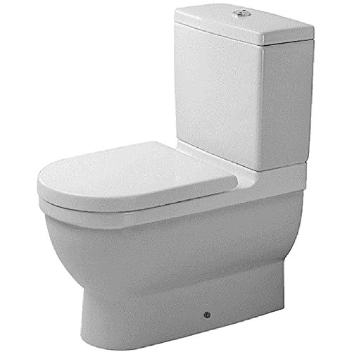 Duravit 0128090000 Starck 3 Toilet Bowl Close-Coupled (Vario Connector Set)