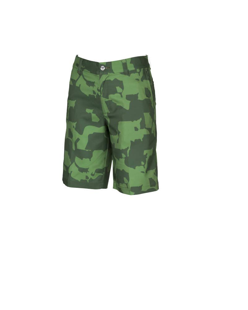 Puma Golf Boys 2019 Union Camo Short, Juniper, Large