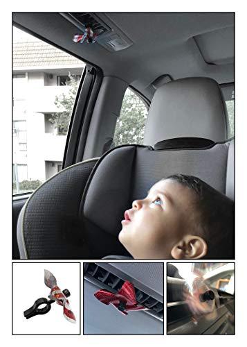 DooDAD Creations Whirlamajig Air Vent Pinwheel 4-Pack -