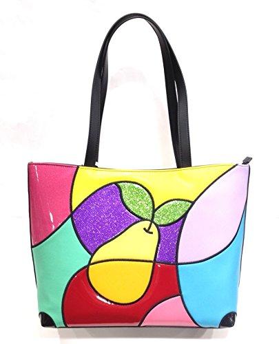 Braccialini , Sac pour femme à porter à l'épaule multicolore Couleur unie