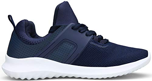 Hommes Femmes De Running Gymnastique Shoes Athletic Entraneurs Bleu Pour Baskets Vedaxin 1wqOUq