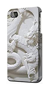 S0386 Dragon Carving Graphic Printed Case Cover for Iphone 5 5s