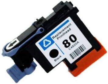 caidi Cabezal de impresión Remise con Neuf para HP 80 Compatible ...