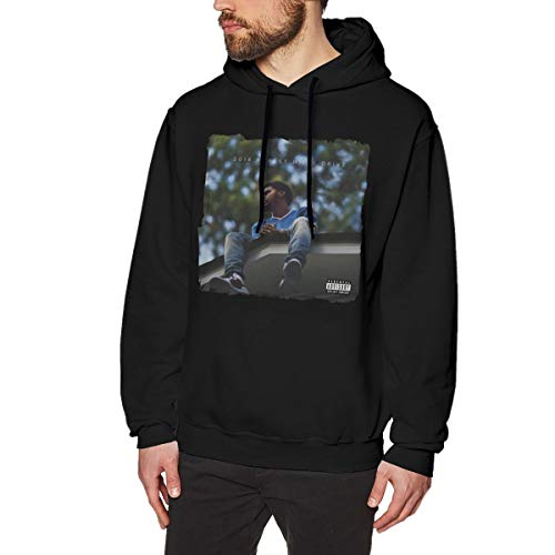 AVA BIRCH J?Cole?2014?Forest?Hills?Drive Sweatshirts for Men Hoodies S Black (J Cole Forest Hills Drive Homecoming Full)