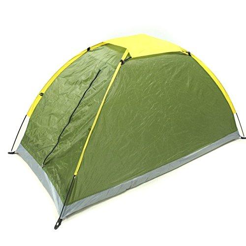 Malilove Camping Zelt Single Layer Wasserdicht Eine Person Zelt Strand Zelt Outdoor Tragbare UV-Besteändig Camping Zelt mit Tragetasche