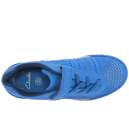 Clarks mode pour Bleu garçon Baskets r4qw8r
