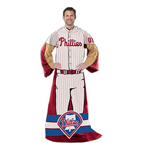 Player Phillies Mlb (Philadelphia Phillies MLB Full Body Player Adult Comfy Throw, 48