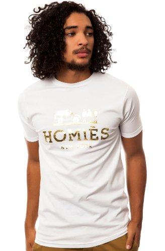 Reason Men's Homies Tee Small White