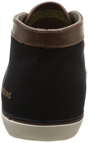 Redskins Lecode - Zapatillas de Deporte de canvas Hombre negro - Noir (Noir/Antilope)