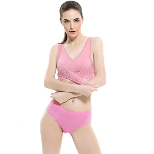 [Sports Bra ,Beautyvan Women Push Up Wire Free Padded Anti-shock Sweat Lace Comfortable Fashion Sports Bra (XL,] (Halter Stretch Costumes)