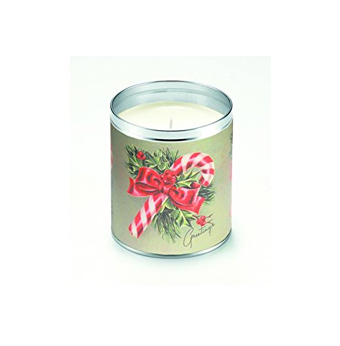 Aunt Sadie's Candles 2025 Candy Cane Greetings, Candy Can...