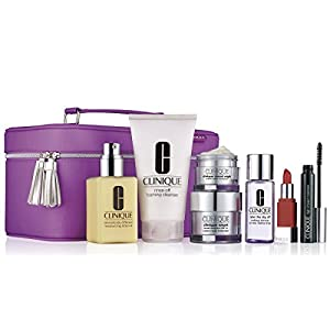 Clinique Dramatically Different Moisturizing Lotion & Smart Night Custom-Repair Moisturizer Best skin Care Set for Holiday