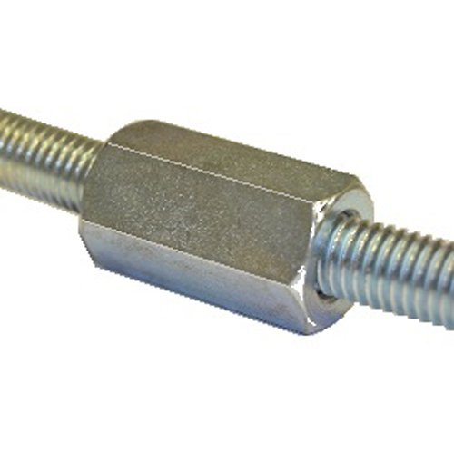 M10 Threaded Rod Connector A4 Stainless - Pack Of 20 Direct Channel