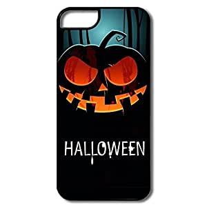 IPhone 5/5s Cases Halloween Pumpkin Design Hard Back Cover Shell Desgined By RRG2G
