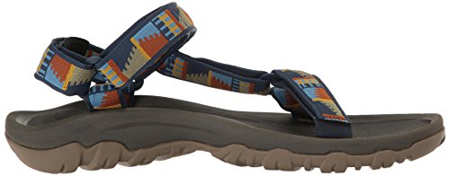 Teva Men's Hurricane XLT Sports and Outdoor Lifestyle Sandal Blue (Peaks Navy) 9RAqx