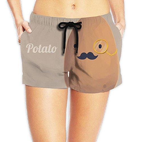 Duck Brush Pant (YUnMM Potato Woman Summer Beach Walk Shorts)