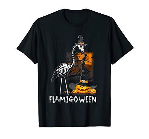 Flamingoween Funny Flamingo T-Shirt Halloween Costume