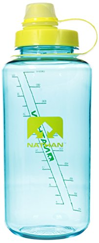 Nathan BigShot Narrow Mouth Bottle, Teal/Celeste Yellow (Nathan Bottle compare prices)