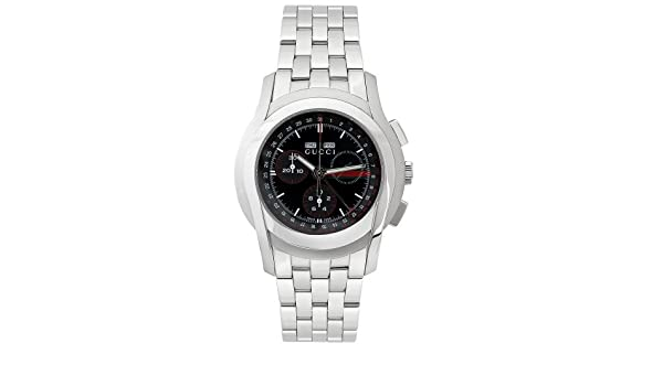 650e83cd301 Amazon.com  GUCCI Men s YA055206 XL 5505 Series Chronograph Watch  Gucci   Watches