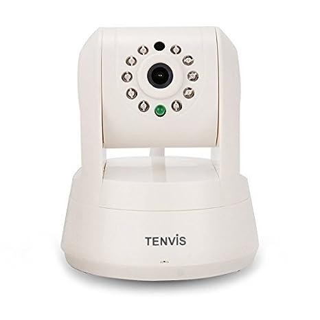 TENVIS TZ100 HD Cámara de seguridad inalámbrica IP/red, visión en directo remota, captura imágenes y ...
