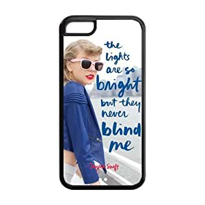 the Case Shop- Taylor Swift Quotes Singer TPU Rubber Hard Back Case Silicone Cover Skin for iPhone 5C , i5cxq-475