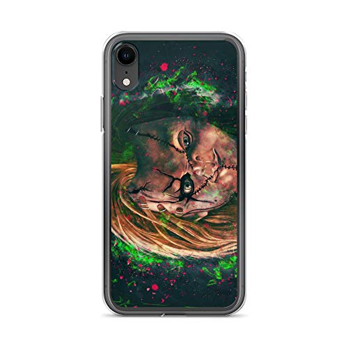 iPhone XR Case Anti-Scratch Motion Picture Transparent Cases Cover Charles Lee Ray Movies Video Film Crystal Clear]()