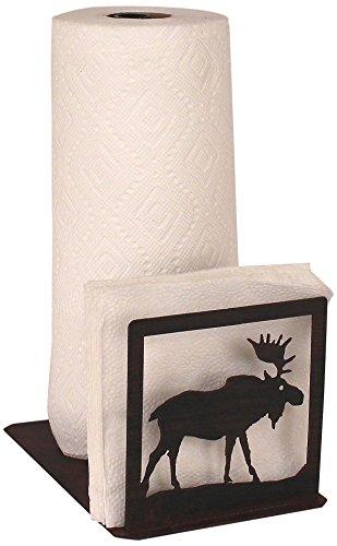 Holder Moose Napkin (Coast Lamp Iron Moose Short Paper Towel/Napkin Holder)
