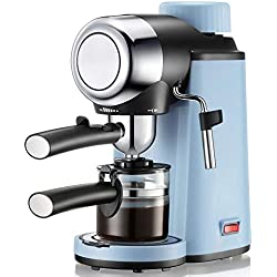 ZXvbyuff Coffee Grinder with Adjustable Setting -Burr Coffee Grinder for Drip Coffee, Semi-Automatic Coffee Machine Home Coffee Machine High Pressure Extraction Can Be Used for Foaming Household