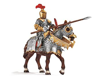 Knight & Sword on Horse